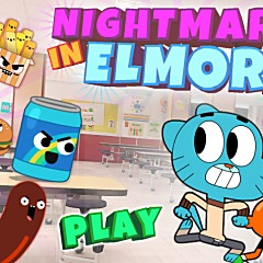 Gumball Nightmare in Elmore