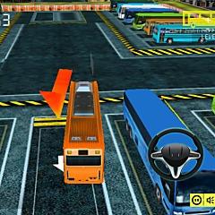 バス運転手の駐車3D
