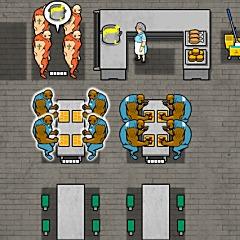 刑務所の食堂