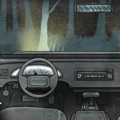 車から逃げ出そう