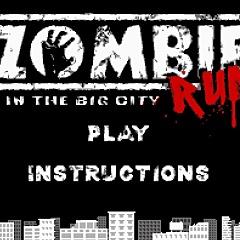 Zombie in the Big City Run