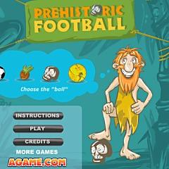 原始人のサッカー
