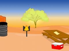 Scorching Desert Escape