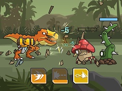 CyberDino T-Rex vs Robots