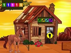 Morgan Horse Escape