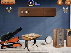 Ekey Vintage Music Studio Escape