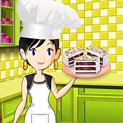 Sara's Cooking Class Ice Cream Cake
