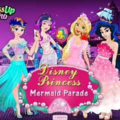 ディズニープリンセスマーメイドパレード