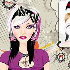 Punk Girl Make Up