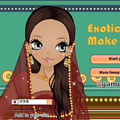 Exotic Beauty Make-Up