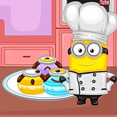 Minion Dessert Macaroons
