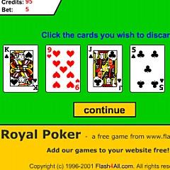 Royal Poker Game