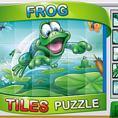 Frog Tiles Puzzle