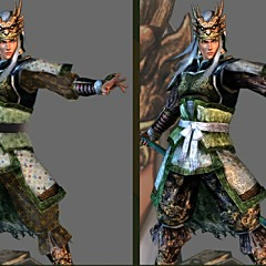 Dynasty Warriors - Find The Difference Game