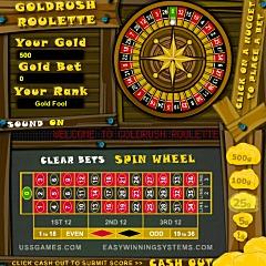 Goldrush Roulette Game