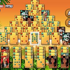 Pyramid Solitaire - Aztec Game