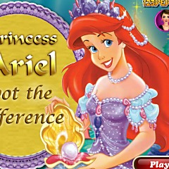 Princess Ariel Spot The Difference