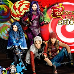 Descendants Candy Shooter Game