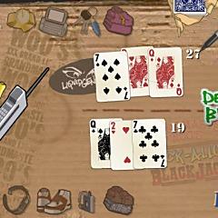 Grand Master Woos Back-Alley Blackjack Game