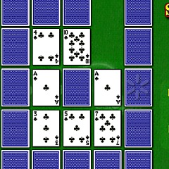 Solitaire Hop Game