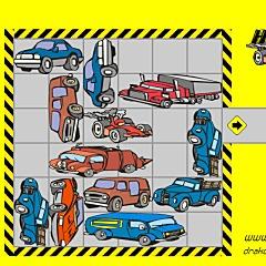 自動車移動パズルゲーム
