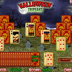 Halloween Tripeaks Game