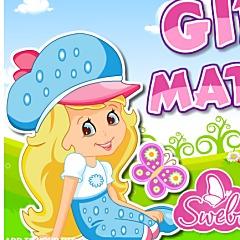 Cheerful Girl Matching
