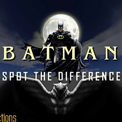 Batman Spot the Difference Game