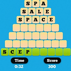 Word Pyramid Game