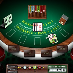 Table Blackjack Game