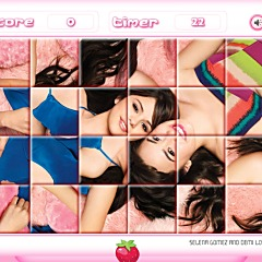 Selena & Demi Rotate Puzzle