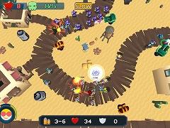 Tower Defense Alien Invasion