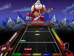 Santa Rockstar Metal Xmas 4