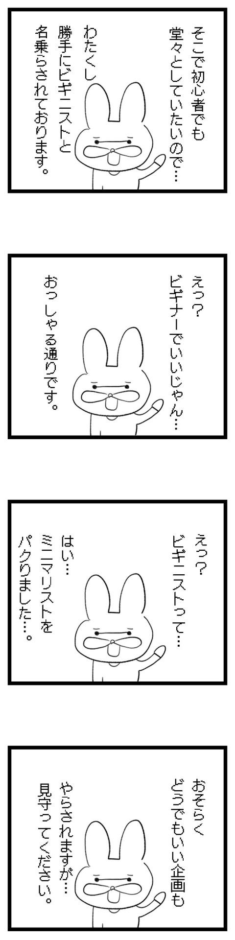 6ビギニストうさ2
