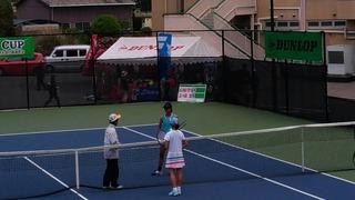 全国選抜ジュニアテニス選手権大会2回戦結果報告