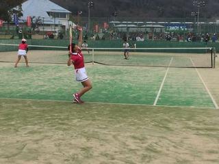 全国選抜中学校テニス大会!団体ベスト4!
