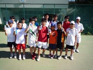 2012 LNIX ジュニアサマーテニスチャンピオンシップ結果報告