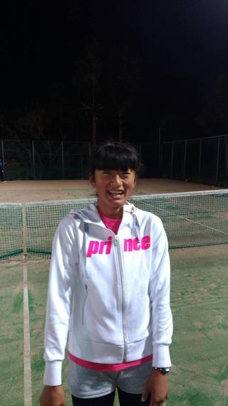 MUFGジュニアテニストーナメント2018神奈川県予選大会優勝