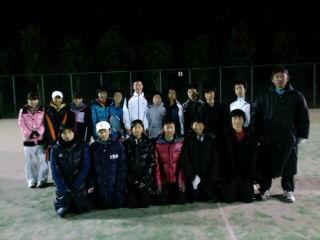 狛江ローンテニスクラブとの練習マッチ!