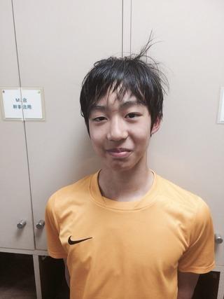 高崎オープンジュニアWINNTER14歳以下準優勝・増川翔太