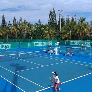 Open BNP PARIBAS JUNIOR de Nouvelle-Caledonie シングルス3回戦・ダブルス2回戦