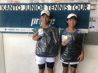 関東ジュニアテニスツアー荏原SSC大会結果報告