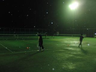 育成チーム!雨の中の練習。