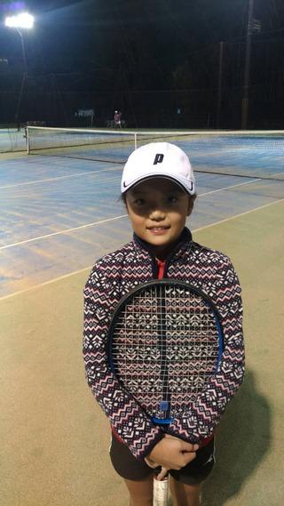 2018年 YONEX CUP TTCオータムジュニアテニストーナメント12歳以下女子シングルス準優勝