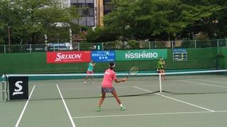 全日本ジュニアテニス選手権大会14歳以下女子シングルス決勝戦(結果速報)