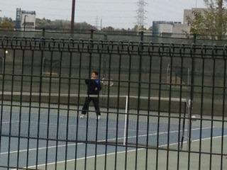 神奈川県小学校テニス大会。