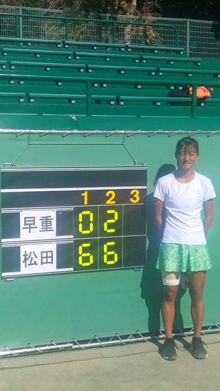2018U-15全国選抜ジュニアテニス選手権大会中牟田杯結果報告