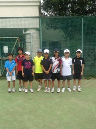 2013レニックステニスジュニアサマーチャンピオンシップ結果