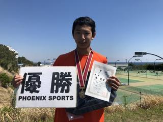 フェニックス⼤磯ジュニアテニストーナメント春休み2019結果報告