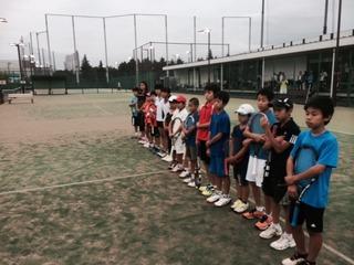 東宝調布テニスクラブと練習マッチ!